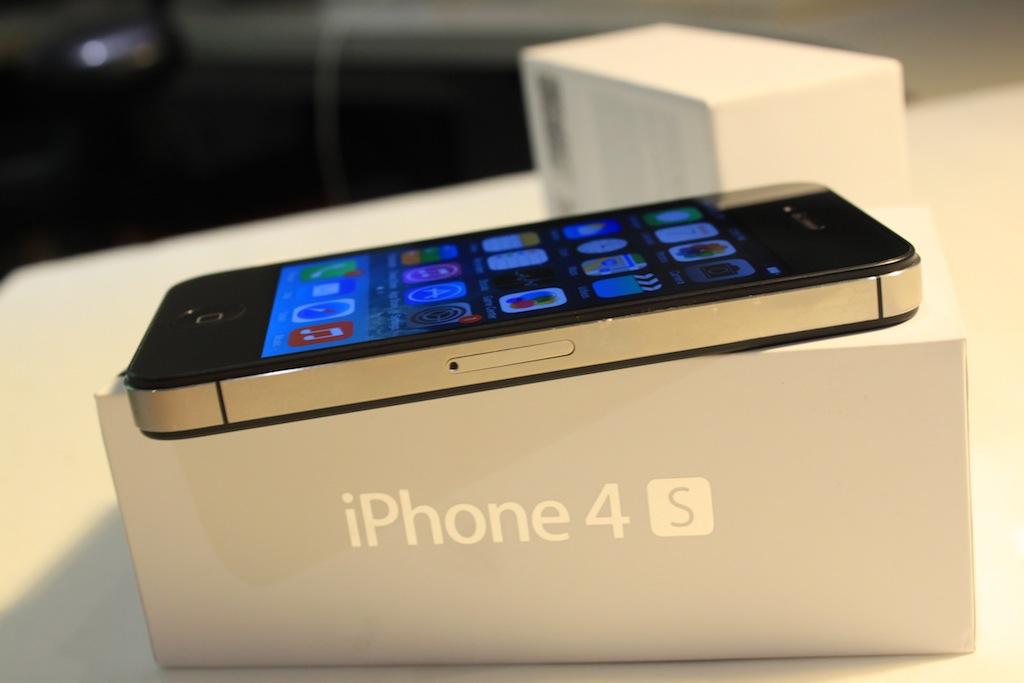 Apple IPhone 4S 16GB Nice Used Black ATT